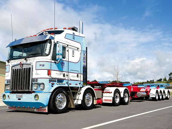 Marsh Transport's new Freighter trailers from MaxiTRANS