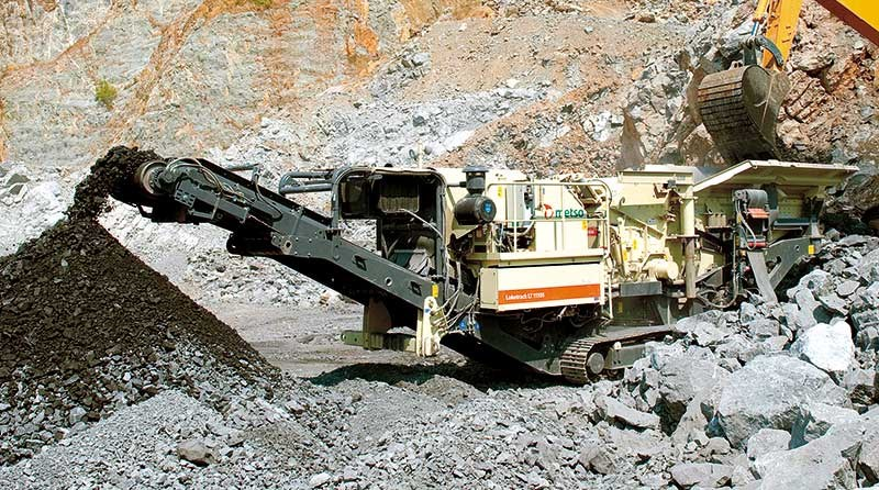 Incoming: new Metso Lokotrack LT1110S
