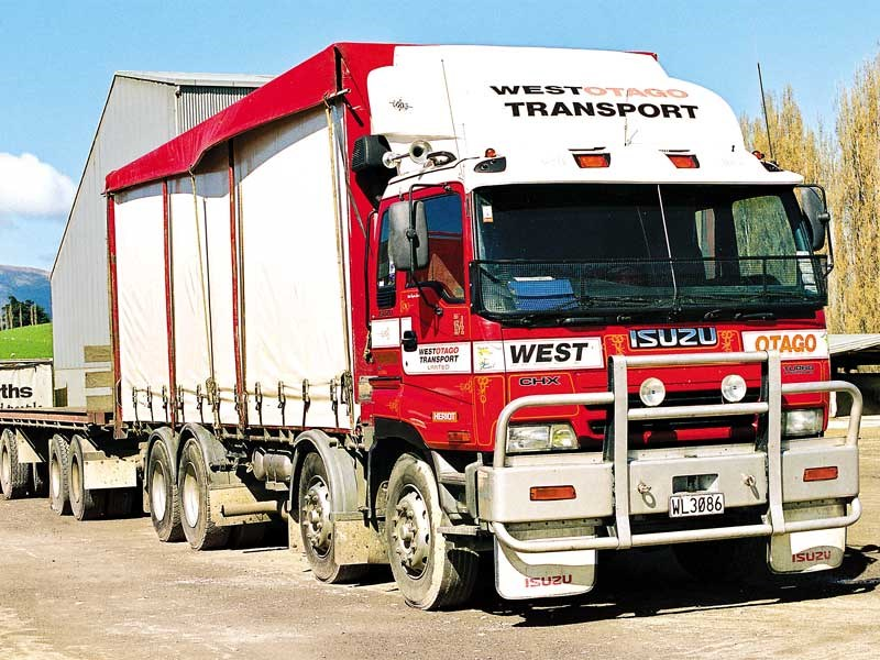 Old school trucks: West Otago Transport