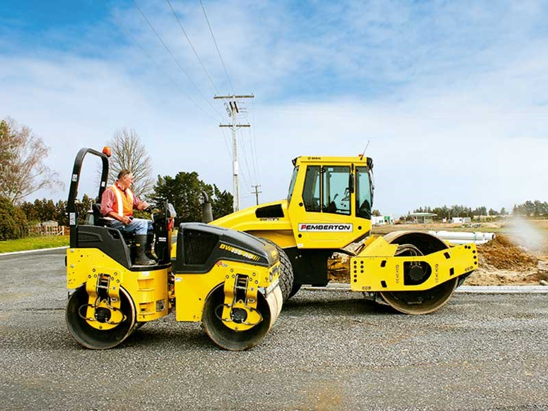 BOMAG grunt and Sam Pemberton Civil