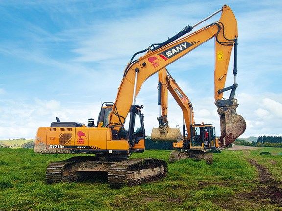 Review: Sany SY215C excavator