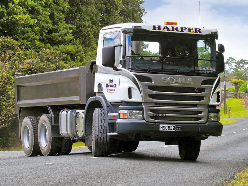 Hard act to follow: Scania P360