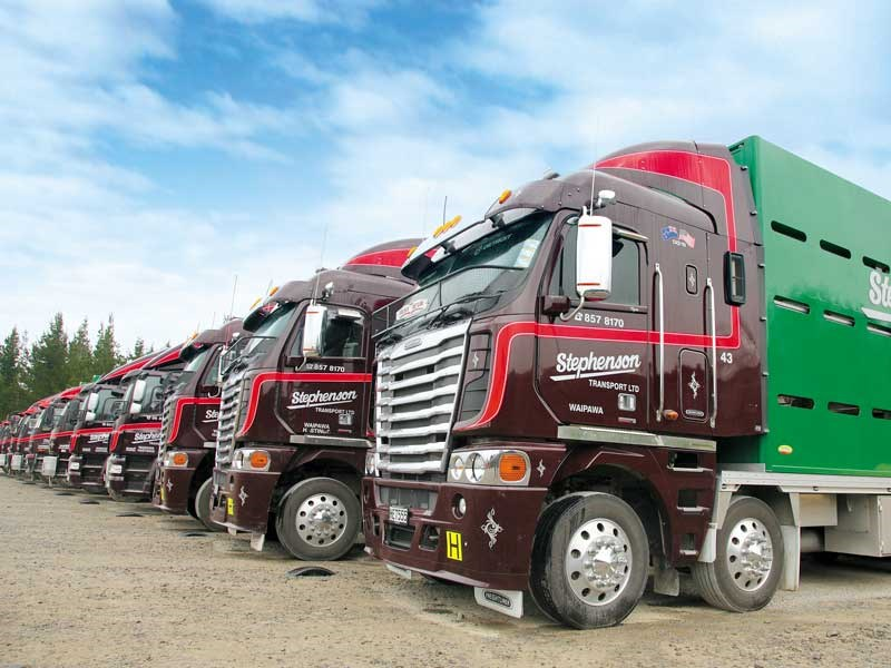Business feature: Stephenson Transport