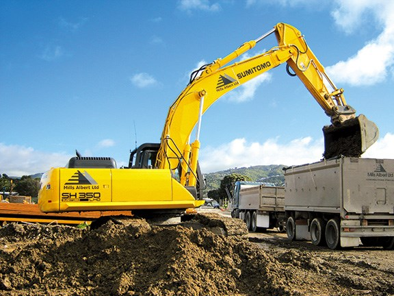 Excavator review: Sumitomo SH350LHD