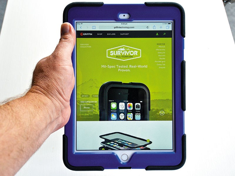 New Survivor all-terrain iPad Air case