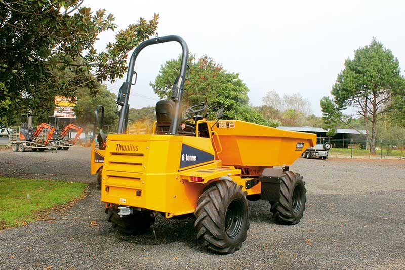 ATJ International brings Thwaites dumpers to NZ