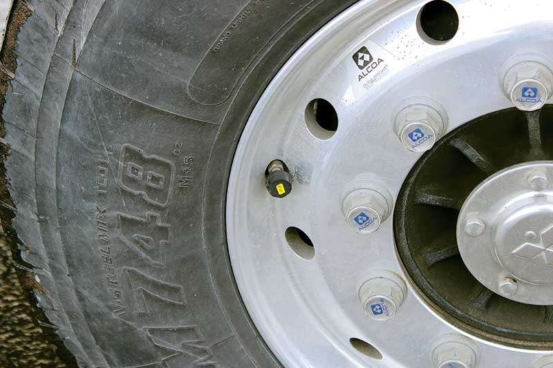 TireAngel: electronic tyre pressure monitoring