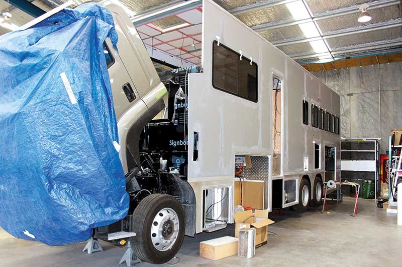 Wade Group: luxury equestrian trucking