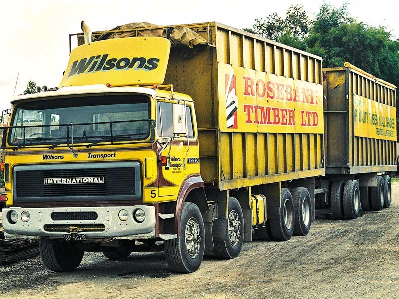 Old school trucks: Wilsons Transport Otago