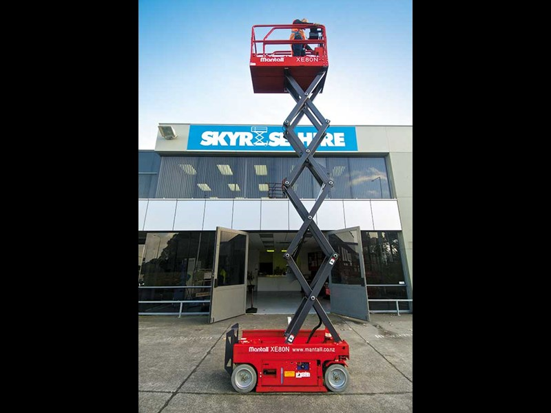 Mantall XD100RT scissor lift review