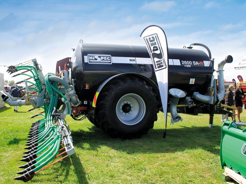 Effluent managment attracted much interest particularly this HiSpec 2600 SA R tanker