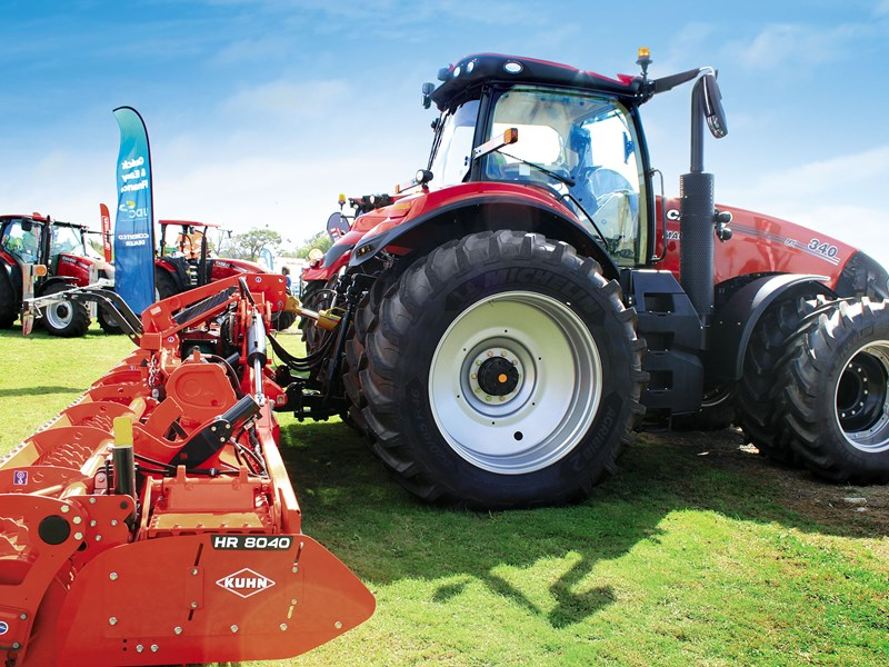 Longer than your average power harrows the Kuhn HR 8040