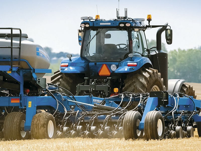 New Holland's NHDrive tractor