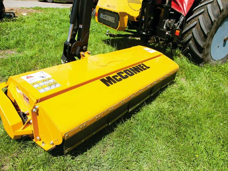 Test: McConnel 6085 Hedge Cutter