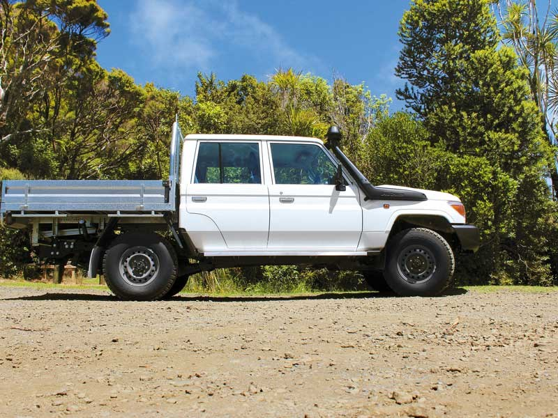 Test: Toyota Land Cruiser 70 Series
