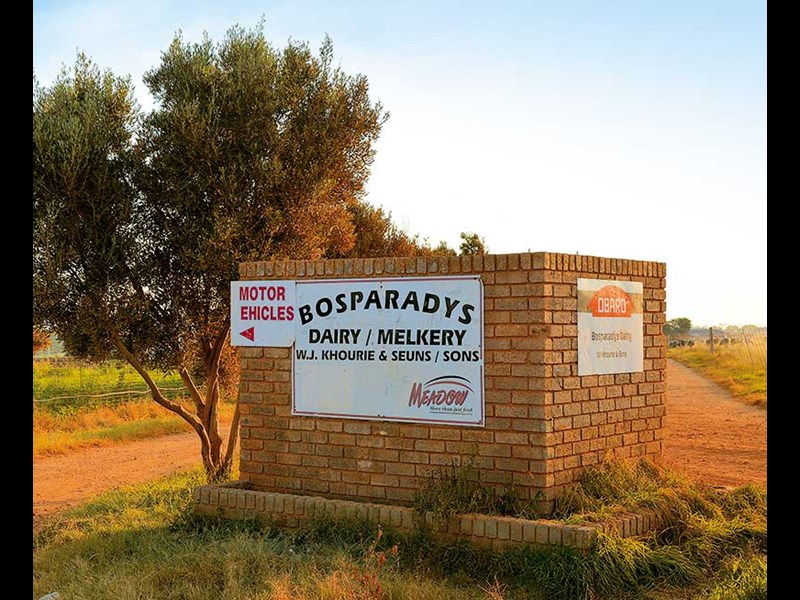 borsparadys farm situated close to pretoria in south africa