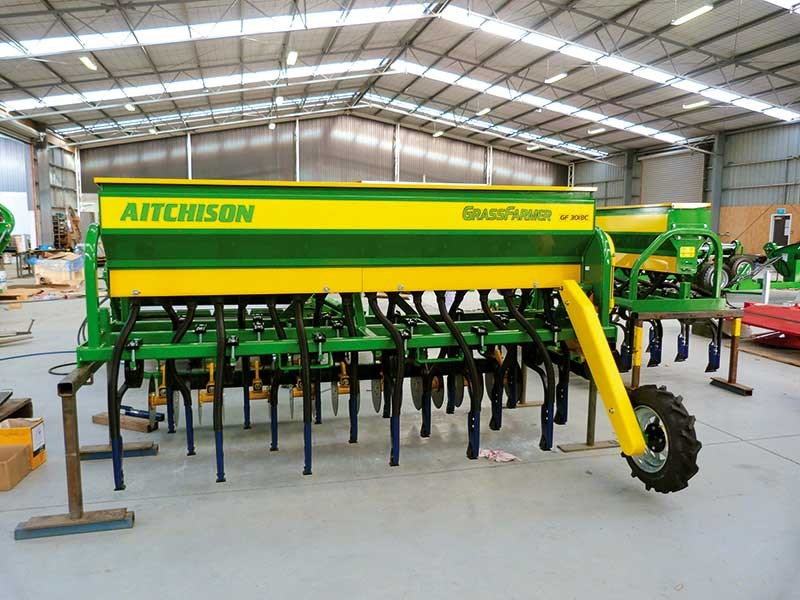 Aitchison 3108 Grassfarmer machine