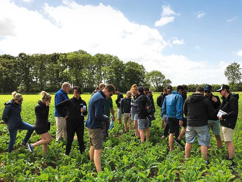 Foundation Arable Research Tour event