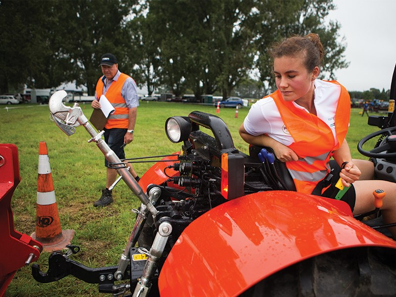 Young Growers from around NZ battle it out