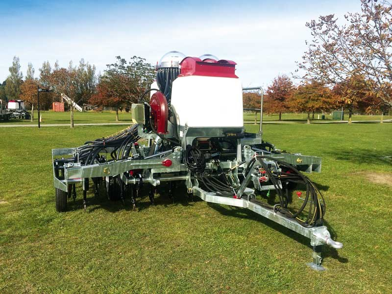 Another Taege innovation – the 4.8m air tyne drill