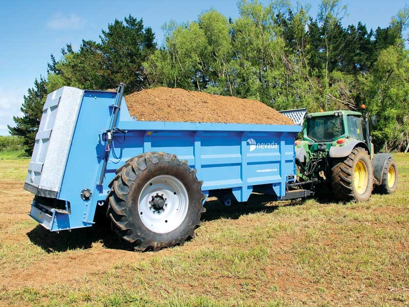 Big Blue the Nevada AS12000 solid muck spreader