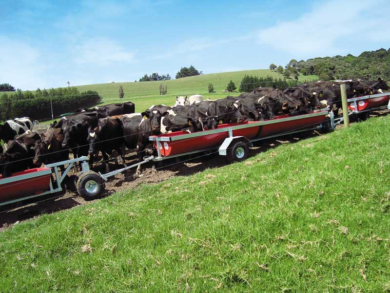 Feed Troughs by Compass Trailers