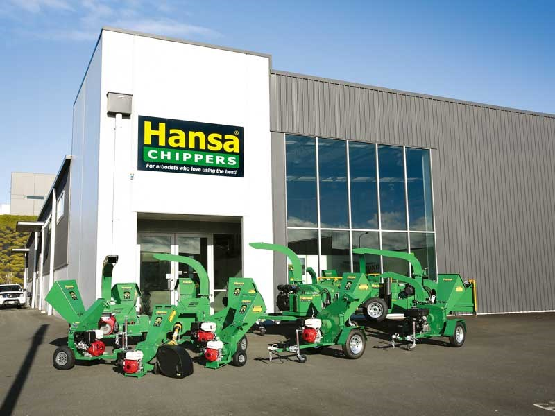 Hansa world-class chippers made locally