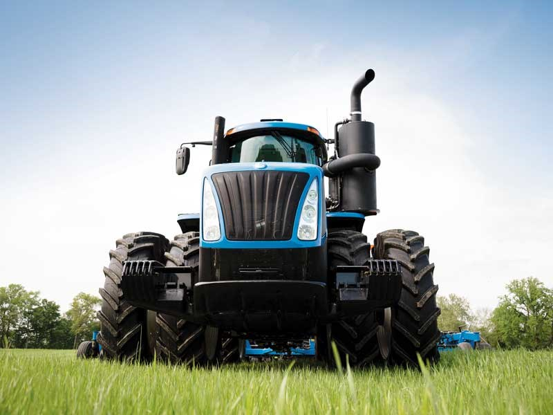 Horsepower galore with New Holland s T9 series