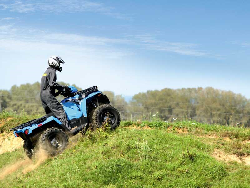 Put to the challenge – the Polaris Sportsman 570 HD EPS