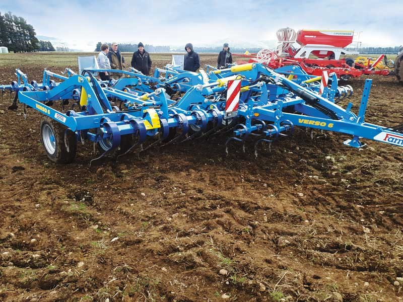 Large cultivation gear was part of the line up at a JJ Ltd Drive and Demo Day