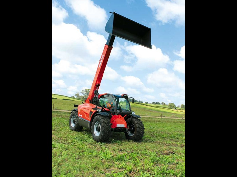 Life and load the Manitou MLT X 732