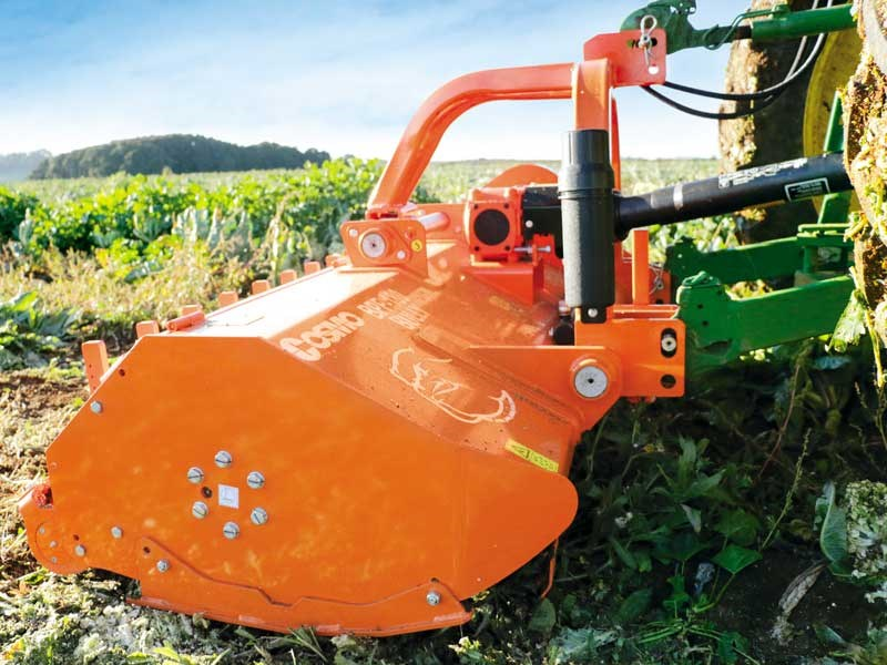 Mulch and go with the Cosmo Bully BPF 180