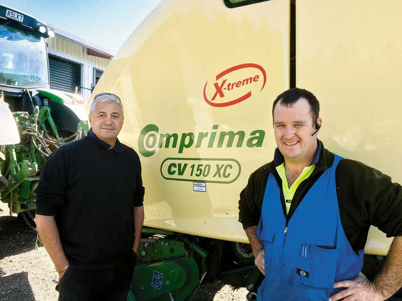 Robert Carter and Robert Gawith with the Coprima X treme from Tulloch