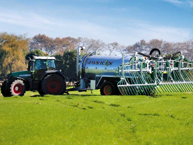 Spread the word we rate the Joskin Modulo 2 slurry tanker highly