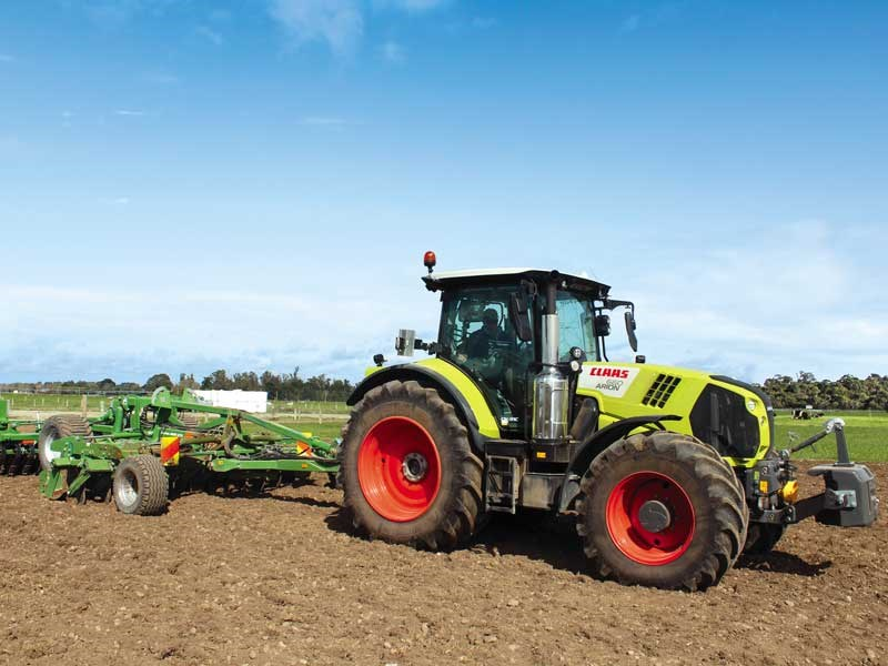 The Claas Arion 660 proves a powerful all rounder