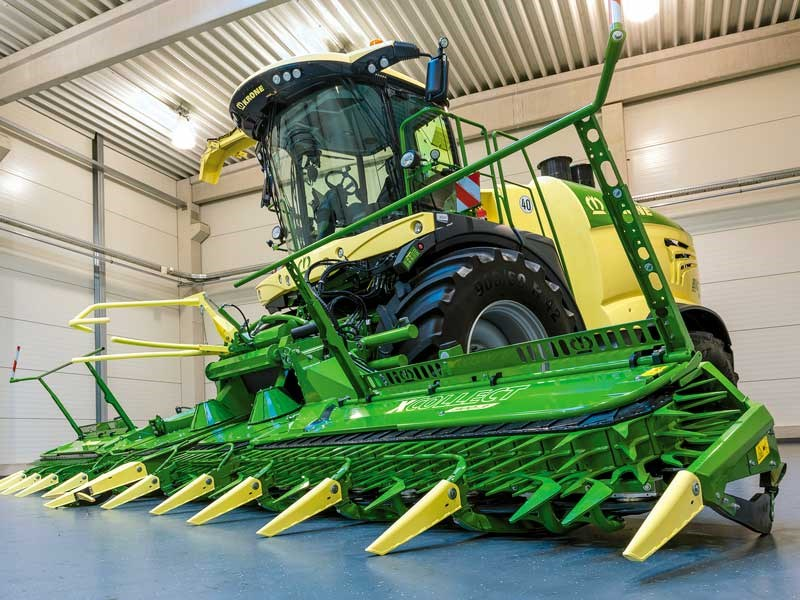The Krone BiG X 1180 the world s most powerful forage harvester