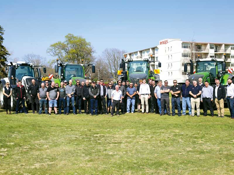 The latest innovations were revealed at an AGCO Fuse Technologies event