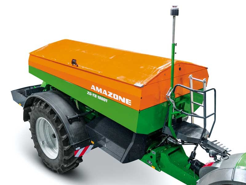 We check out the technology behind the Amazone ZG TZ 10001 trailed spreader