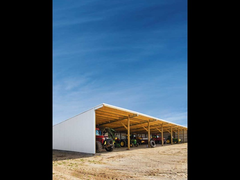 We take a look at building the ultimate farm shed