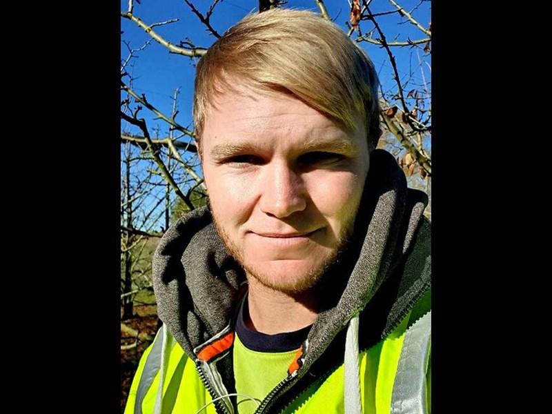 Cameron Smith Central Otago Young Fruit Grower competition