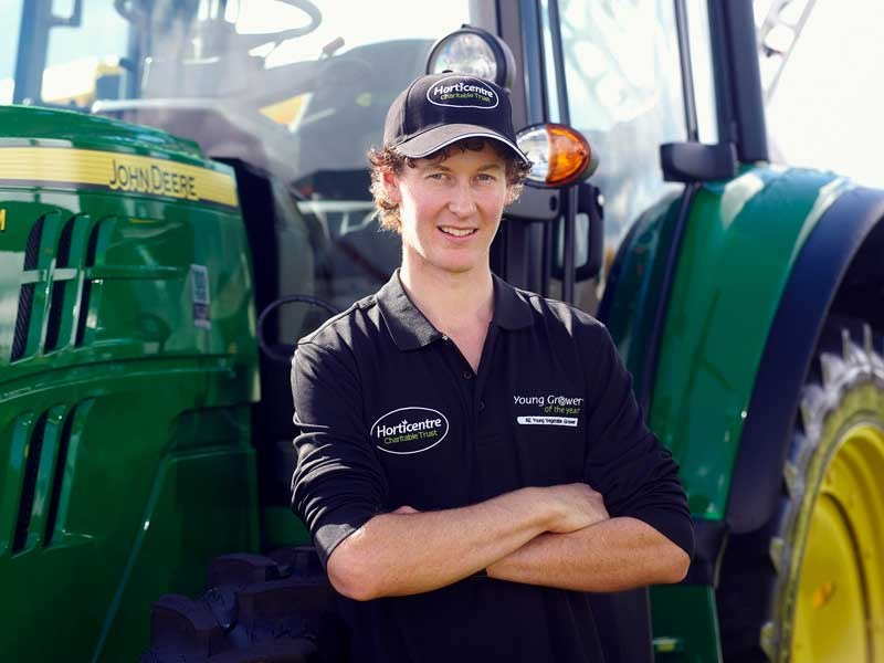 Craig Botting Young Vegetable Grower competition