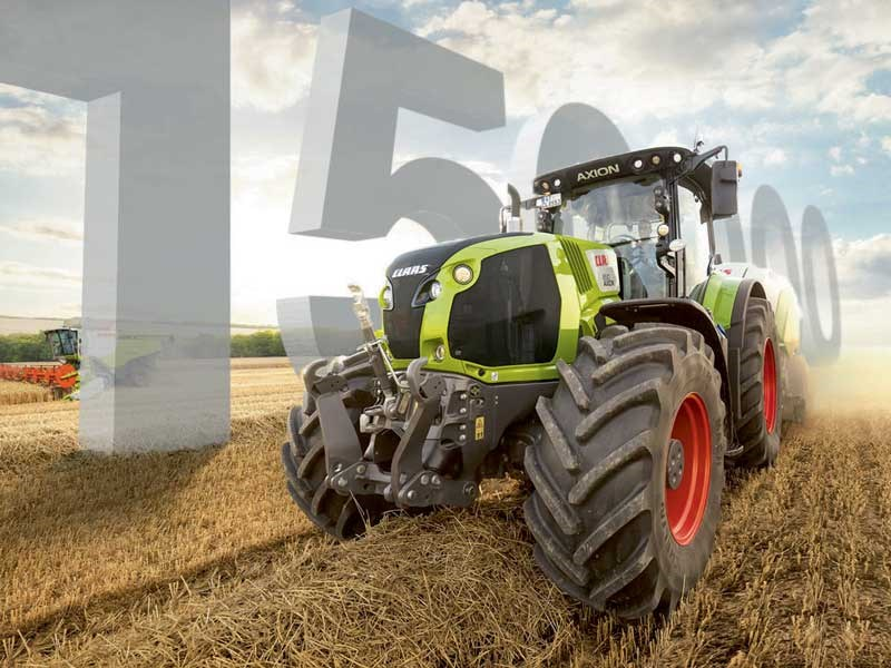 Special-edition Claas Axion 870 and Arion 660 on offer