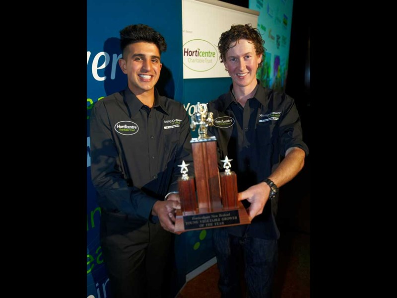 Young Vege Win Young Vegetable Grower competition