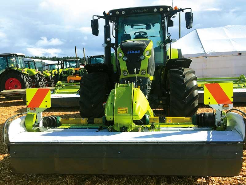The New Zealand Agricultural Fieldays 2019 Claas 2