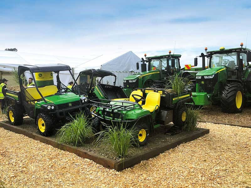 The New Zealand Agricultural Fieldays 2019 John Deere 2