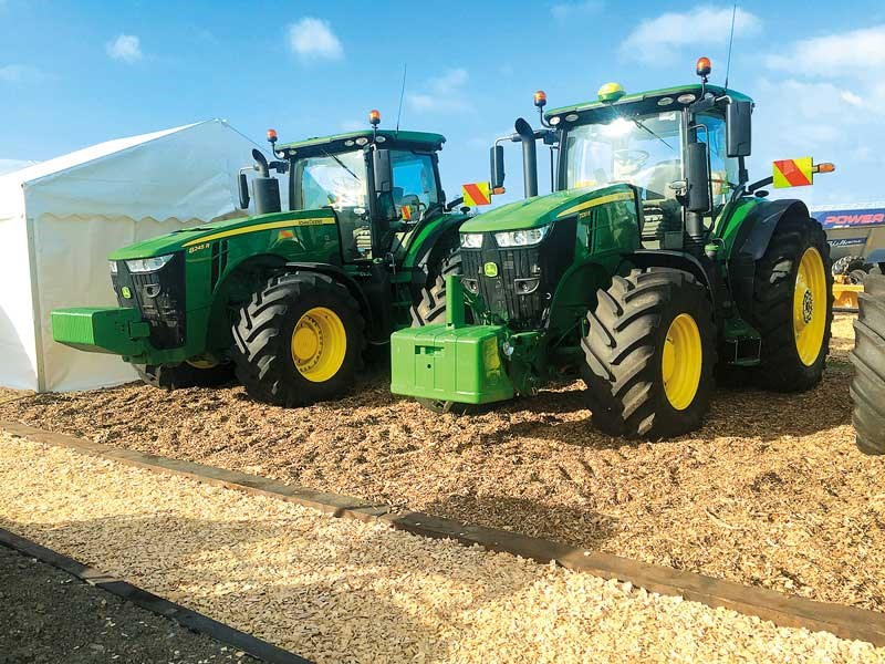 The New Zealand Agricultural Fieldays 2019 John Deere