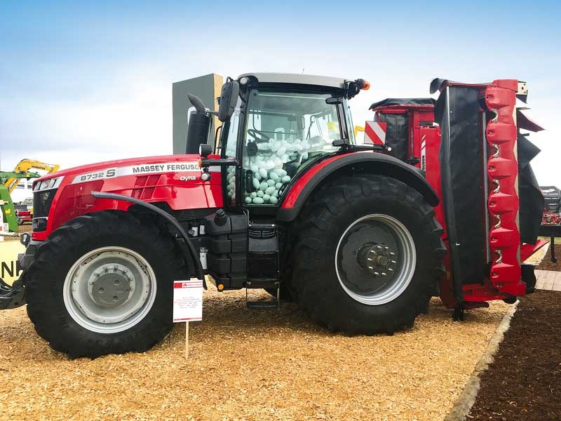 The New Zealand Agricultural Fieldays 2019 Massey Ferguson 2