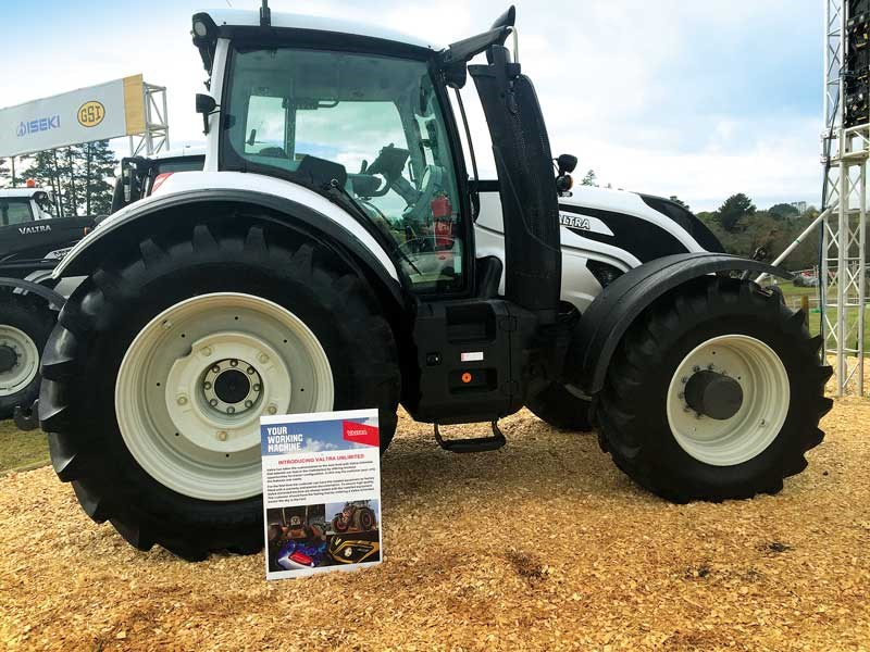 The New Zealand Agricultural Fieldays 2019 Valtra