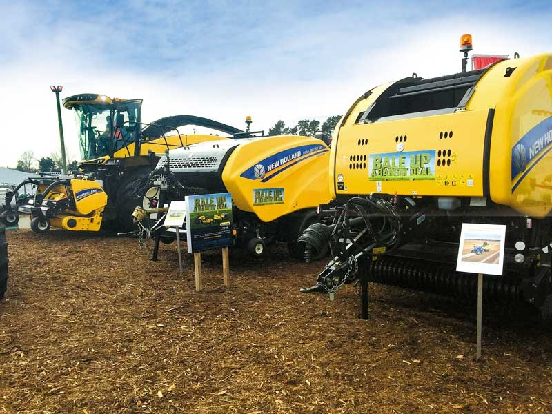The New Zealand Agricultural Fieldays 2019 new holland 2