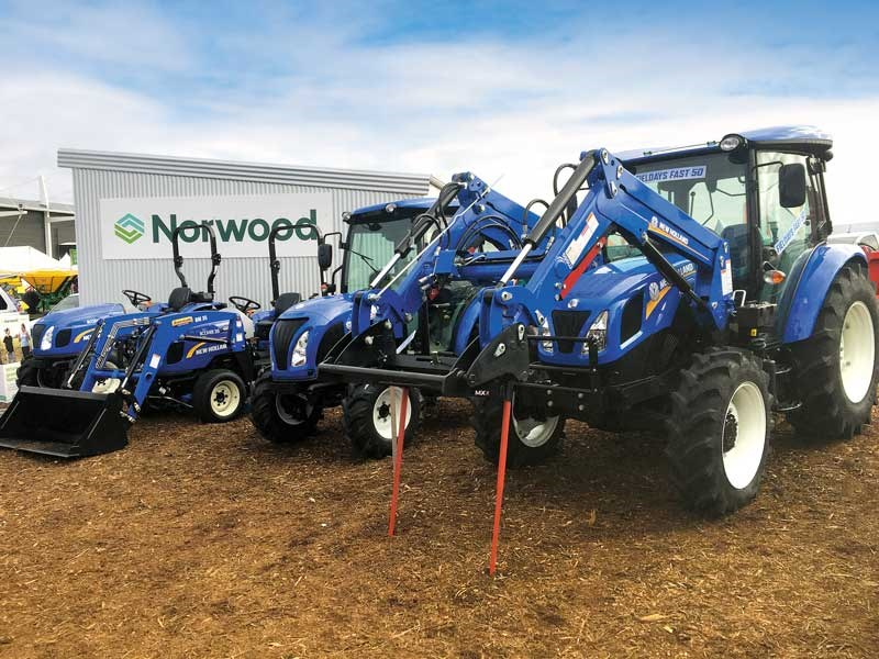 The New Zealand Agricultural Fieldays 2019 new holland